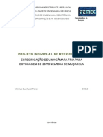 Projeto Individual de Refrigeração - Vinicius Peron