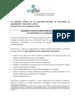 Acuerdo de Lineamientos Curriculares Para La Formacion Docente