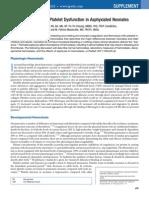 Hemostasis and Platelet Pada Asfiksia