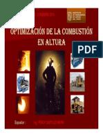 Obtimizacion de La Combustion en Altura