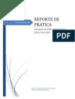 Reporte Office 2010