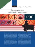 El Concepto de Paria en La Obra de Hannah Arendt