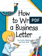 (Explorer Junior Library_ Language Arts Explorer Junior) Cecilia Minden,Kate Roth-How to Write a Business Letter-Cherry Lake Publishing (2012)