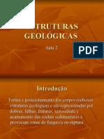 ESTRUTURAS GEOLOGICAS