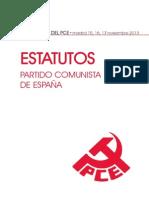 XIX Congreso del Partido Comunista de España - Estatutos