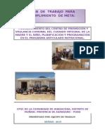 Plan de Trabajo Cpvc Huasacona