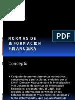 Normas de Informacion Fiananciera