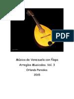 Música de Venezuela con Ñapa. Vol.3