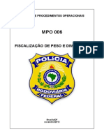 MPO 06 Excesso Peso DPRF