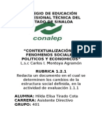 2da Rubrica- Contextualizacion- Terminada