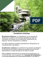 Arquitectura Del Movimiento Moderno
