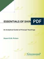 Essentials of Shinto