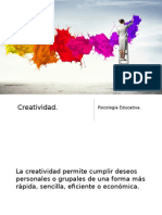 Creatividad Psicologia Educativa