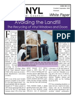 The Recycling of Vinyl Windows and Doors
