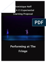 performing at the fringe revised