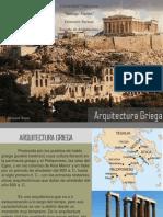 Caracteristicas de la Arquitectura Grecia