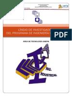 "Informe Comisiã""n Lineas de Investigacion Pii"