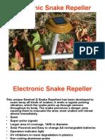 Electronic Snake Repeller