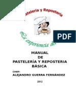 Manual de Pasteleria y Reposteria