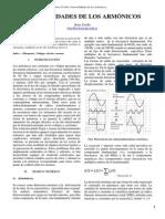 Informe - Armonicos