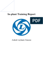 Inplant Training Report- AL
