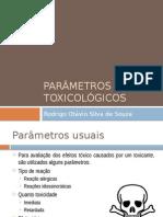 Parâmetros Toxicológicos