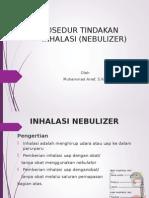 Prosedur Inhalasi Nebulizer