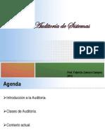 Introducción a la Auditoría de Sistemas