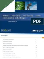 Raport z Badan Jakosciowych PBS_landbrand