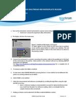 Biochrom Anthos MultiRead 400 Quick Start Guide v 2.0 - MR400-QSG-V2.0