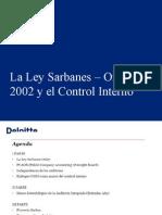 SOX y Control Interno