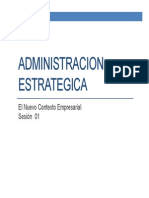 Sesion 01 Estrategia - Contexto Empresarial