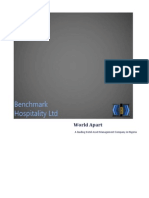 Benchmark Hospitality Ltd Brochure