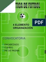 Organizacion de Un Torneo Futbol