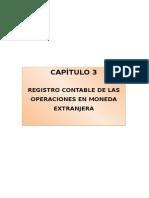 Registro Contable de Las Operaciones en Moneda Extranjera
