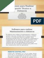 Software Para Realizar Soporte Técnico a Distancia