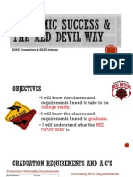 lesson 1- academic success red devil way