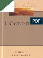 1 Corintios Simon J Kistemaker
