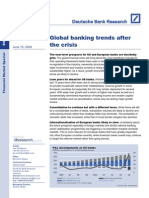 Deutsche Bank - Global Banking Trends After the GFC