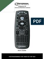 URC Remote Control Guide