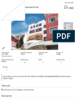 Balcón de La Cuenca - Departamento de 127
