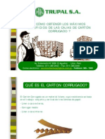 Como Obtener Maximo Beneficio-cajas Carton Corrugado-resumen - Ver 2008