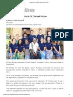 Tuitubou Lauds Work of Global Vision -Fiji Sun