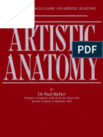 Artistic Anatomy -Paul Richer