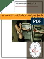 La Anorexia y La Bulimia en Adolescentes de 14 a 18 Años