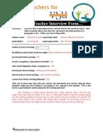 teacher interview form4samantha trujillo
