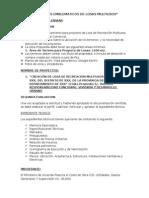 Requisitos de Presentacion de Proyectos de Losas