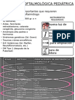 evaluacion oftalmica pediatrica
