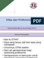 ETIKA KAUNSELOR - PROF EMERITUS DATO DR  AMIR AWANG.ppt