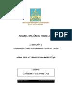 ASIG 2- Introducción a La Administración de Proyectos 2